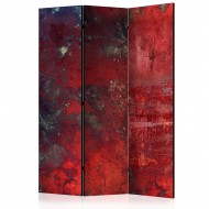 Paravent 3 volets  Red Concrete [Room Dividers]