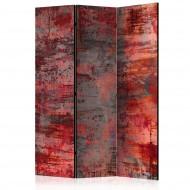 Paravent 3 volets  Red Metal [Room Dividers]