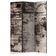 Paravent 3 volets  Burnt Wood [Room Dividers]