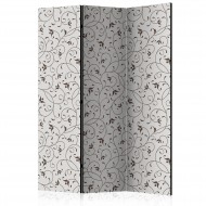 Paravent 3 volets  Black Twigs [Room Dividers]
