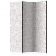 Paravent 3 volets  Colourless Leaves [Room Dividers]
