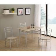 Ensemble Repas Table + 4 Chaises