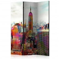 Paravent 3 volets  Colors of New York City [Room Dividers]