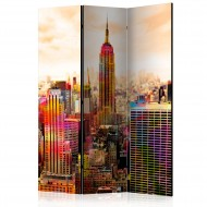 Paravent 3 volets  Colors of New York City III [Room Dividers]