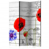 Paravent 3 volets  Wildflowers [Room Dividers]