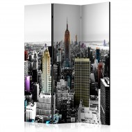 Paravent 3 volets  Iridescent skyscrapers  [Room Dividers]