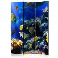 Paravent 3 volets  Underwater adventure [Room Dividers]