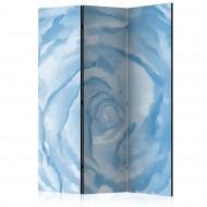 Paravent 3 volets  rose (blue) [Room Dividers]