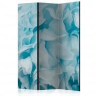 Paravent 3 volets  Azalea (blue) [Room Dividers]