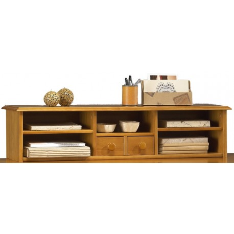 r hausse pour bureau ministre de style anglais pin miel 38503 beaux meubles pas chers. Black Bedroom Furniture Sets. Home Design Ideas