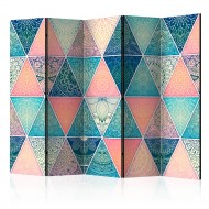 Paravent 5 volets  Oriental Triangles [Room Dividers]