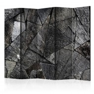 Paravent 5 volets  Pavement Tiles (Grey) [Room Dividers]