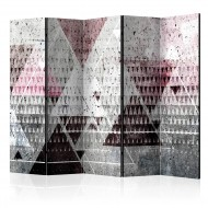 Paravent 5 volets  Triangles [Room Dividers]
