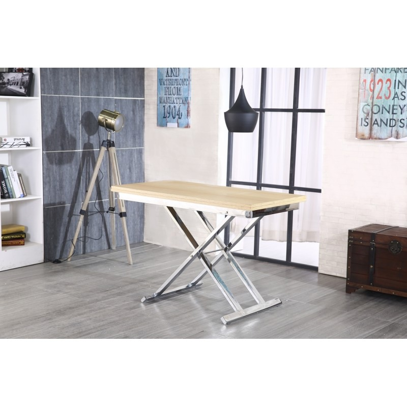 Table relevable rallonge maison design - Table relevable avec rallonge ...