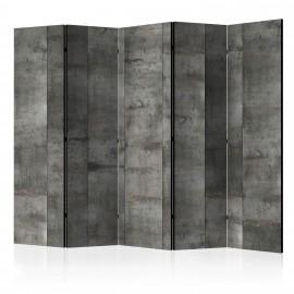 Paravent 5 volets - Steel design II [Room Dividers]