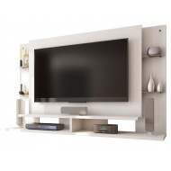 Suppport Mural TV 55 pouces Blanc Dominio