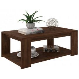 Table Basse Rectangle 2 Plateaux Wengé