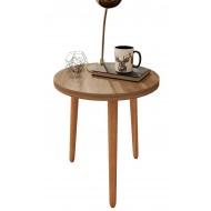 Table Basse Ronde 45 cm Pieds Bois