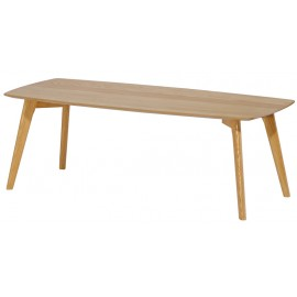 Table Basse Rectangle 110 cm Chêne