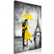 Tableau  Paris Fog (1 Part) Vertical Yellow