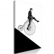 Tableau  Cyclist (1 Part) Vertical