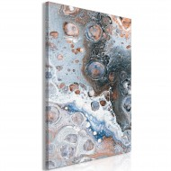 Tableau  Blue Sienna Marble (1 Part) Vertical