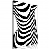 Tableau  Zebra Woman (1 Part) Vertical