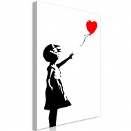 Tableau  Little Girl with a Balloon (1 Part) Vertical