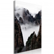 Tableau  Fog Over Huang Shan (1 Part) Vertical