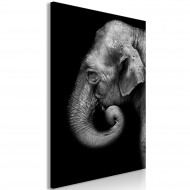 Tableau  Portrait of Elephant (1 Part) Vertical