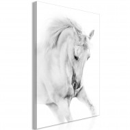 Tableau  White Horse (1 Part) Vertical