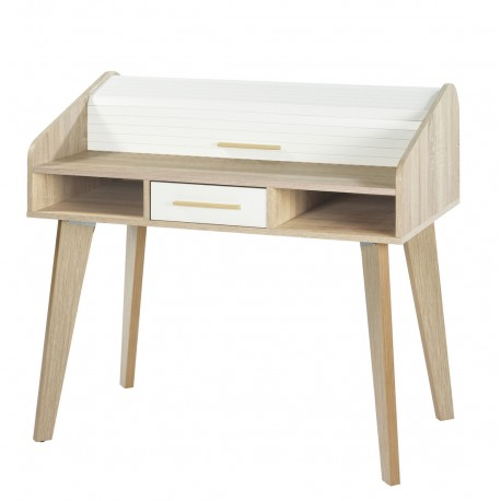 Meuble rideau bureau fabulous caisson de bureau a rideau for Meuble bureau rideau coulissant