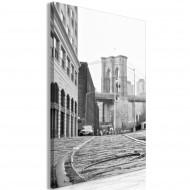 Tableau  Brooklyn Bridge (1 Part) Vertical