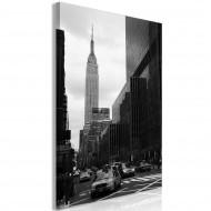 Tableau  Street in New York (1 Part) Vertical