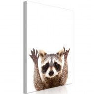Tableau  Raccoon (1 Part) Vertical
