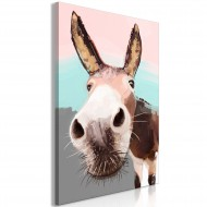 Tableau  Curious Donkey (1 Part) Vertical