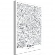Tableau  Map of Berlin (1 Part) Vertical