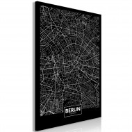Tableau  Dark Map of Berlin (1 Part) Vertical
