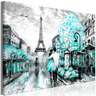 Tableau  Colourful RendezVous (1 Part) Wide Turquoise