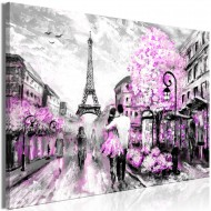 Tableau  Colourful RendezVous (1 Part) Wide Pink