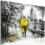 Tableau  Walk in London (1 Part) Wide Yellow