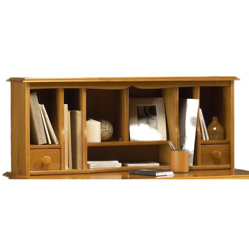 Surmeuble pour table crire de style anglais pin miel 38151 beaux meubles - Destockage meubles pas cher ...