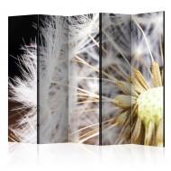 Paravent 5 volets  Fluffy dandelion II [Room Dividers]