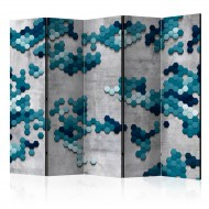 Paravent 5 volets  Sea puzzle II [Room Dividers]