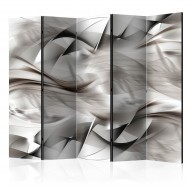 Paravent 5 volets  Abstract braid II [Room Dividers]