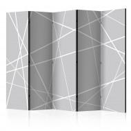 Paravent 5 volets  Modern Cobweb II [Room Dividers]