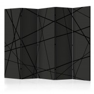 Paravent 5 volets  Dark Intersection II [Room Dividers]