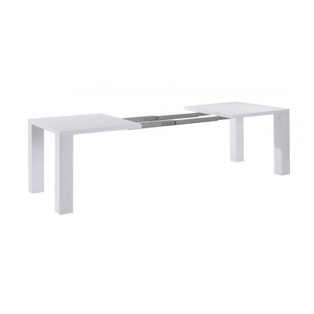 Table de Séjour Blanche Extensible 250 cm
