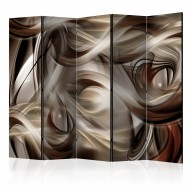 Paravent 5 volets  Brown Revelry II [Room Dividers]