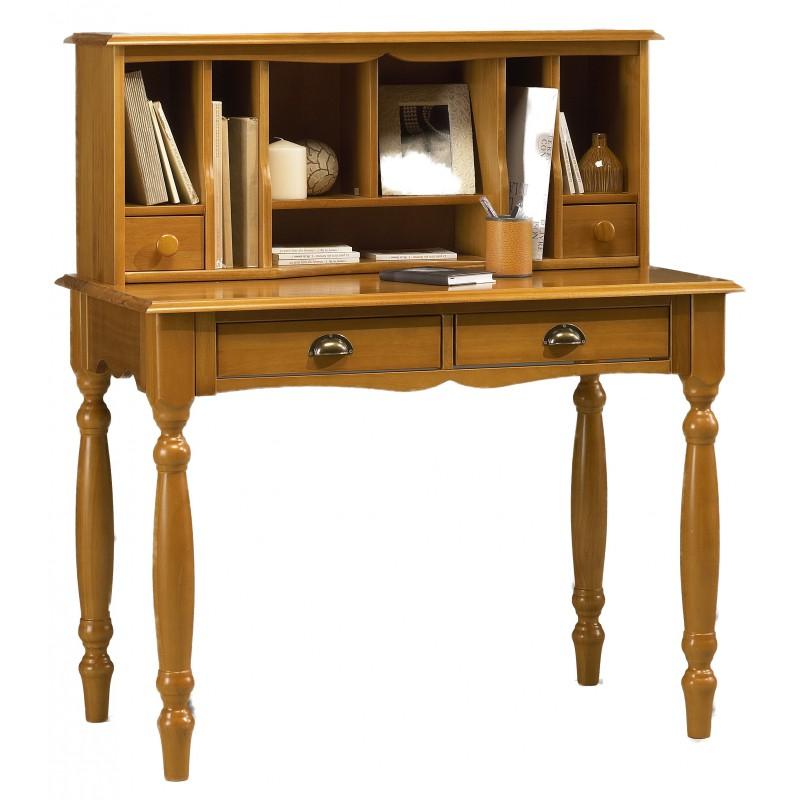 meuble secr taire bonheur du jour pin miel de style anglais. Black Bedroom Furniture Sets. Home Design Ideas